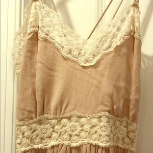 Maxi cream dress